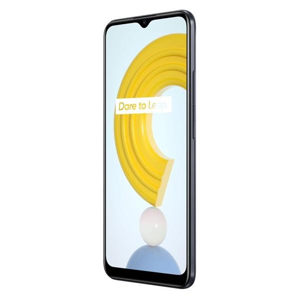 Realme C21 4/64GB DualSIM kártyafüggetlen okostelefon - fekete (Android) - 2