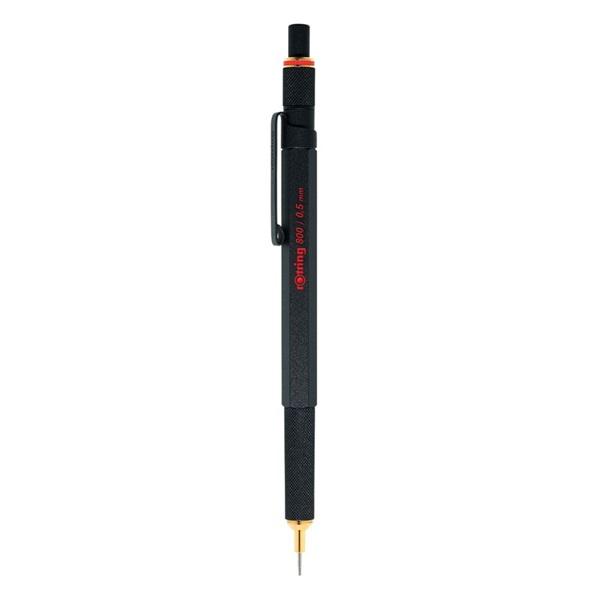 Rotring 800 0,5mm fekete nyomósirón - 1