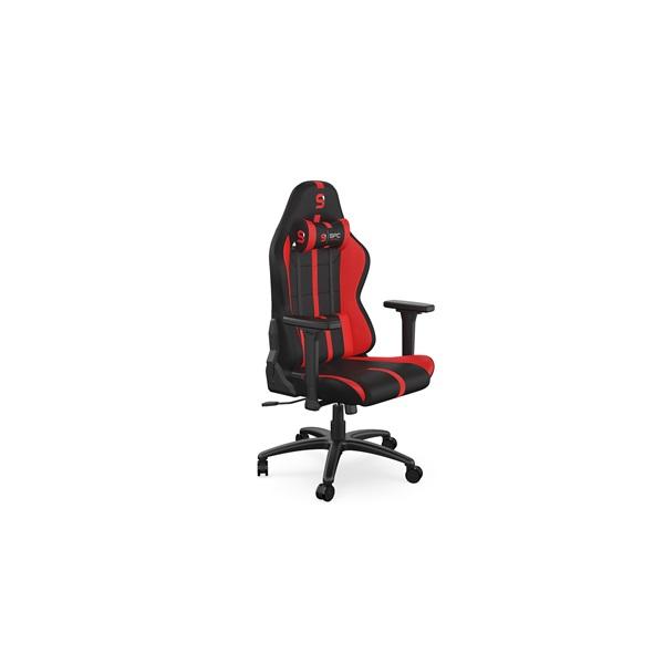 SPC Gear SR400F fekete / piros gamer szék - 1