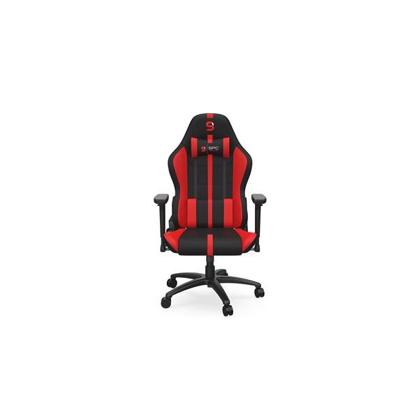 SPC Gear SR400F fekete / piros gamer szék - 2