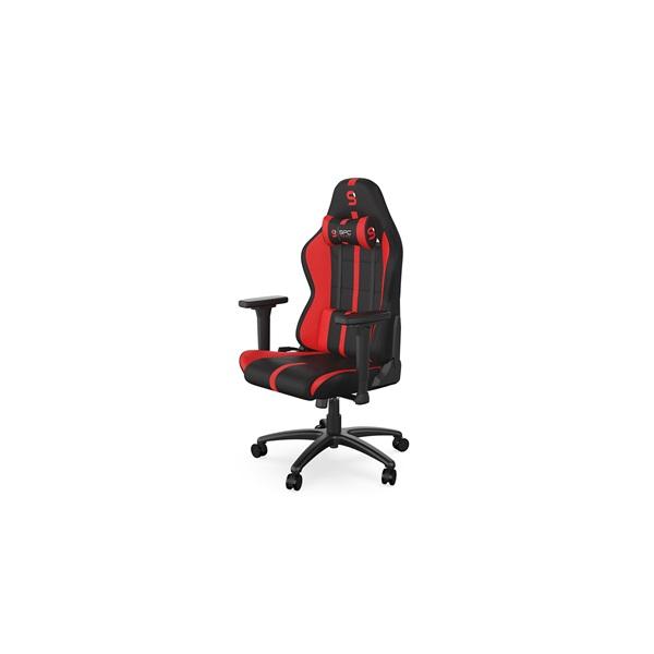 SPC Gear SR400F fekete / piros gamer szék - 8