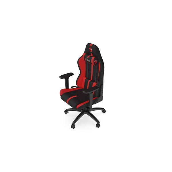 SPC Gear SR400F fekete / piros gamer szék - 13