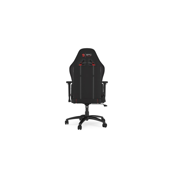 SPC Gear SR400F fekete / piros gamer szék - 3