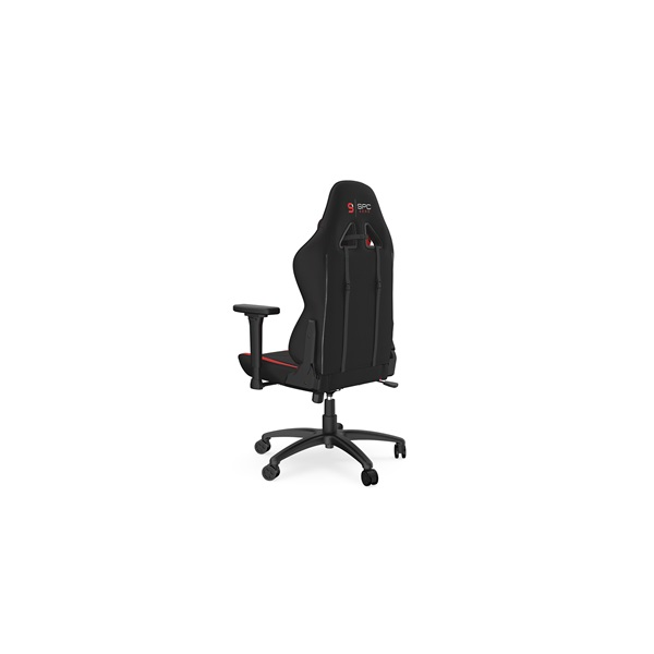 SPC Gear SR400F fekete / piros gamer szék - 4