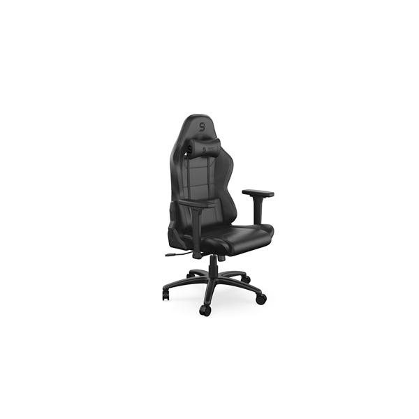 SPC Gear SR400 fekete gamer szék - 1