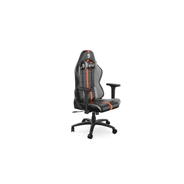 SPC Gear SR400 fekete / narancs gamer szék - 1