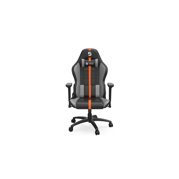 SPC Gear SR400 fekete / narancs gamer szék - 2