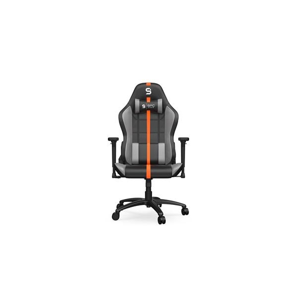 SPC Gear SR400 fekete / narancs gamer szék - 9
