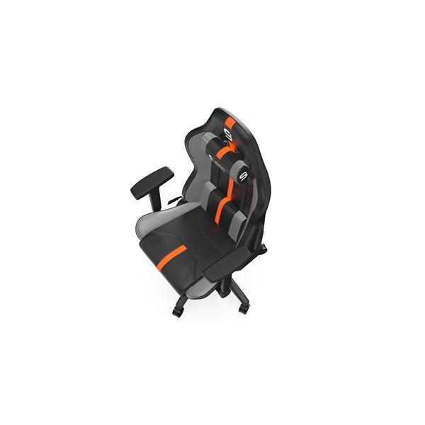SPC Gear SR400 fekete / narancs gamer szék - 14