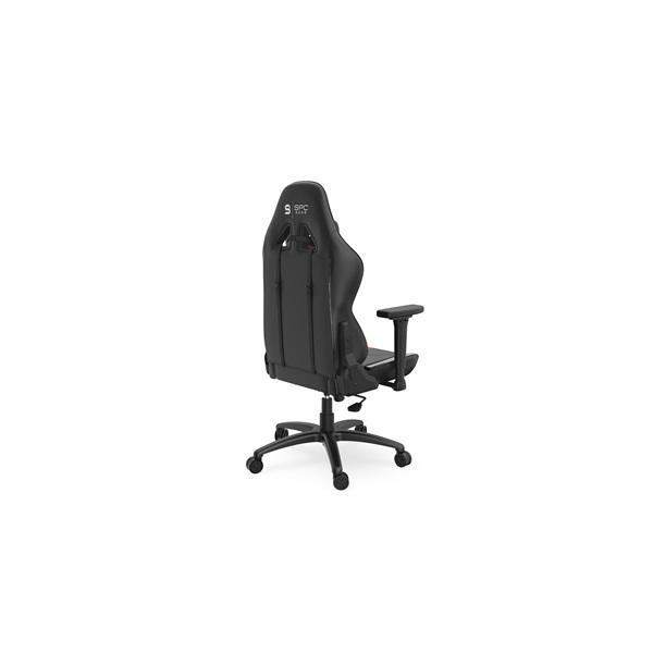 SPC Gear SR400 fekete / narancs gamer szék - 15