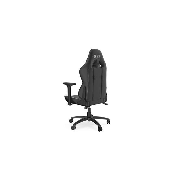 SPC Gear SR400 fekete / narancs gamer szék - 4