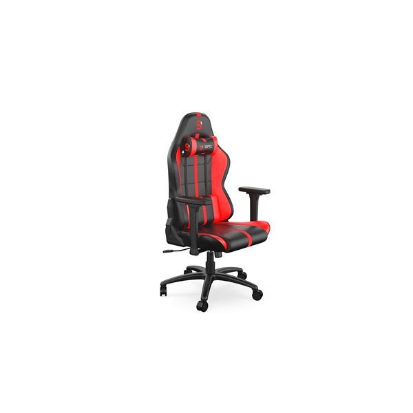SPC Gear SR400 fekete / piros gamer szék - 1