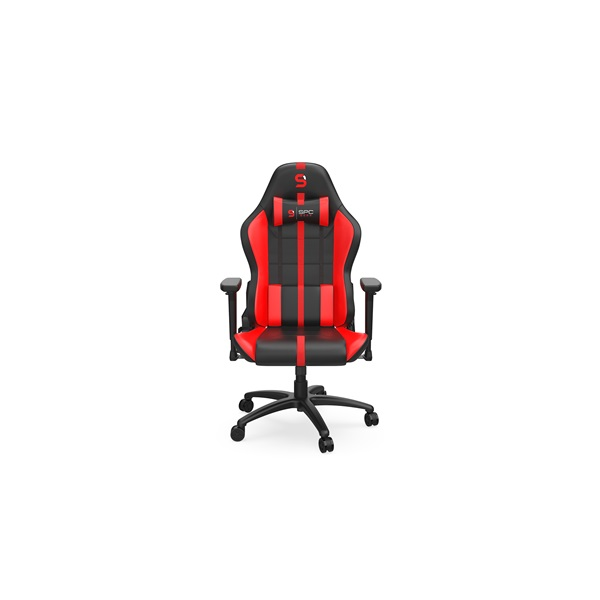 SPC Gear SR400 fekete / piros gamer szék - 2