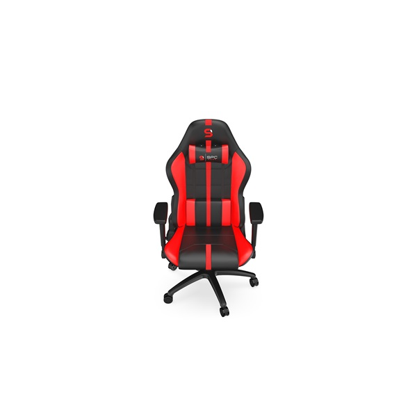 SPC Gear SR400 fekete / piros gamer szék - 11