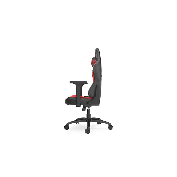 SPC Gear SR400 fekete / piros gamer szék - 4