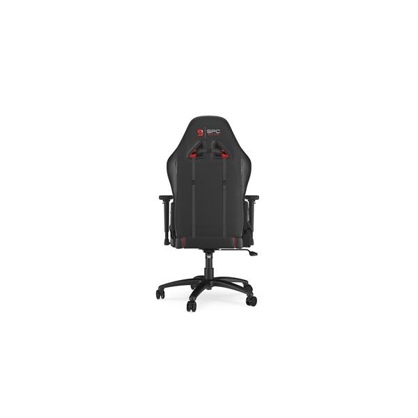 SPC Gear SR400 fekete / piros gamer szék - 6