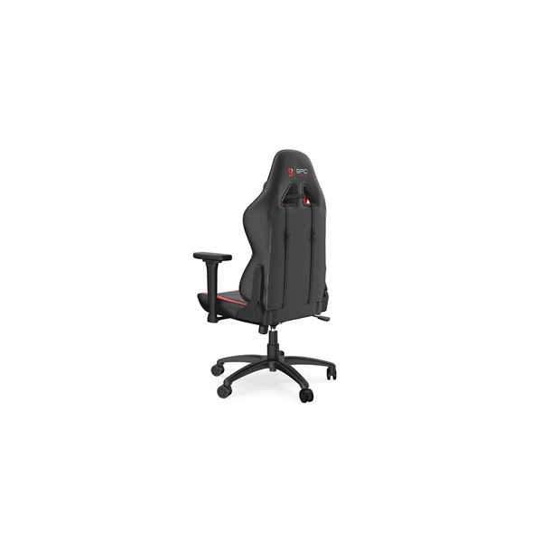 SPC Gear SR400 fekete / piros gamer szék - 7