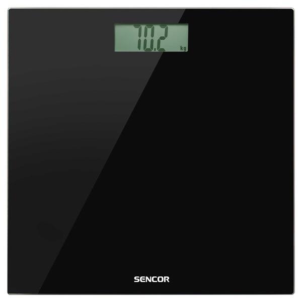 Sencor SBS 2300BK fekete személymérleg - 2