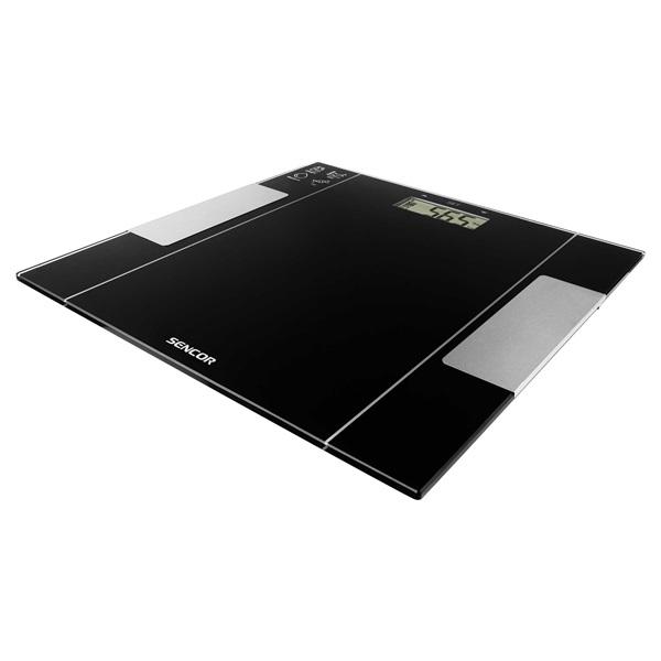 Sencor SBS 5050BK fekete fitnesz személymérleg - 2