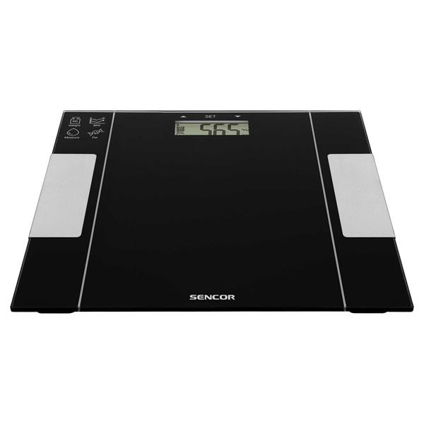 Sencor SBS 5050BK fekete fitnesz személymérleg - 3