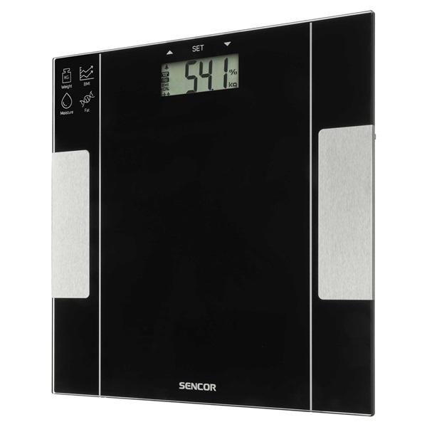Sencor SBS 5050BK fekete fitnesz személymérleg - 5