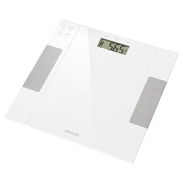 Sencor SBS 5051WH fehér fitnesz személymérleg - 1