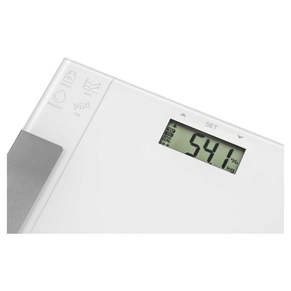 Sencor SBS 5051WH fehér fitnesz személymérleg - 2
