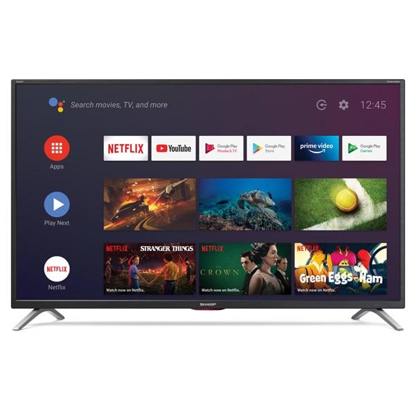 "Sharp 40"" 40BL5EA 4K UHD Android Smart LED TV - 2"
