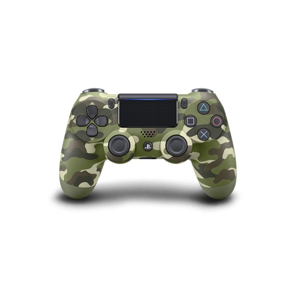 Sony PlayStation 4 Dualshock 4 V2 Camouflage zöld - terepszínű kontroller a PlayIT Store-nál most bruttó 15.999 Ft.