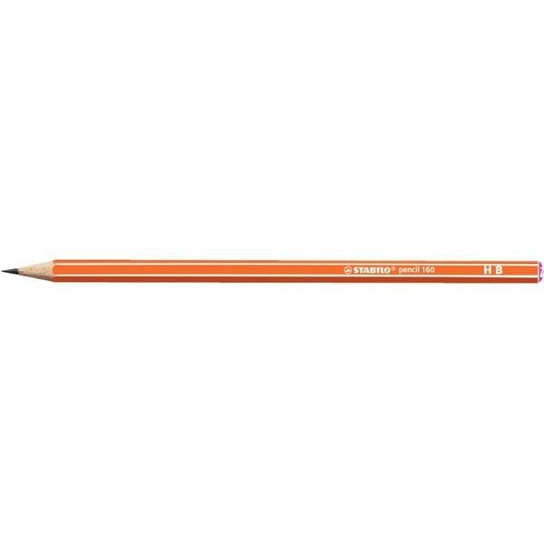 Stabilo 160 HB narancs grafitceruza - 1