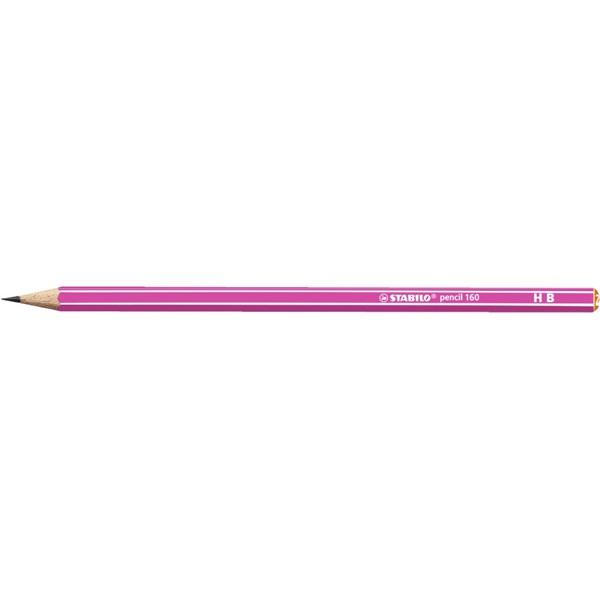 Stabilo 160 HB pink grafitceruza - 1