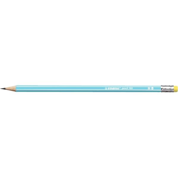 Stabilo 160 HB radíros kék grafitceruza - 1