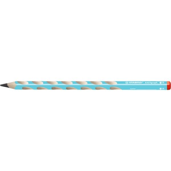 Stabilo Easy HB jobbkezes kék grafitceruza - 1