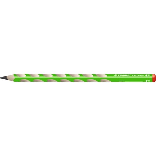 Stabilo Easy HB jobbkezes zöld grafitceruza - 1