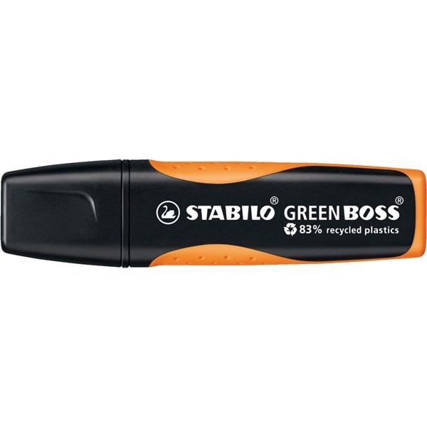Stabilo Green Boss narancs szövegkiemelő - 1