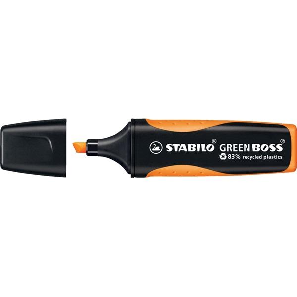 Stabilo Green Boss narancs szövegkiemelő - 2