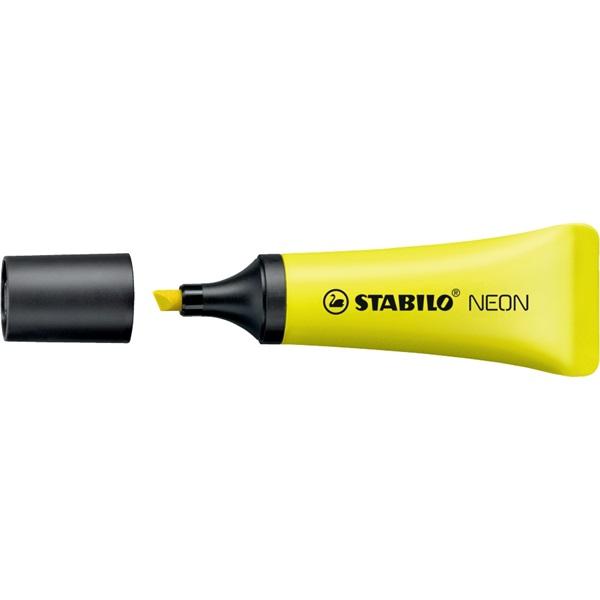 Stabilo Neon 72/24 sárga szövegkiemelő - 1
