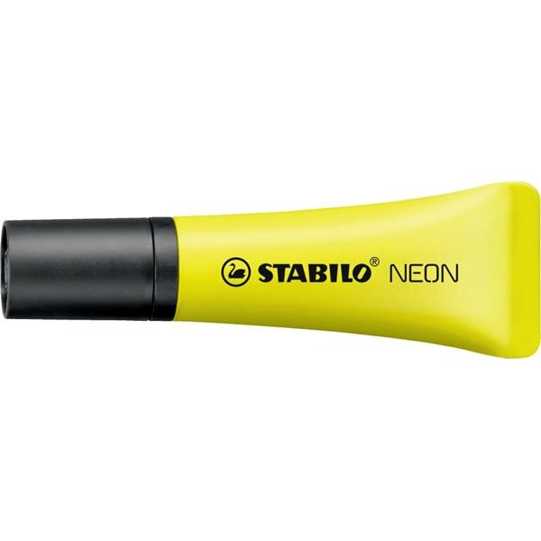 Stabilo Neon 72/24 sárga szövegkiemelő - 2