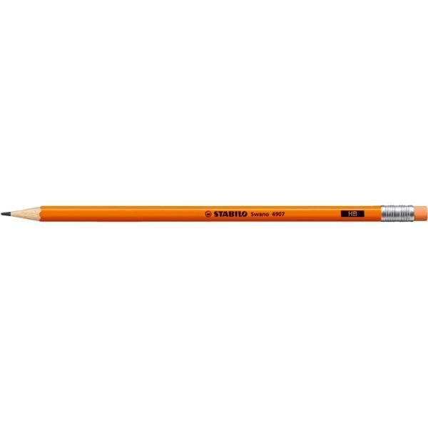 Stabilo Neon HB narancssárga grafitceruza - 1