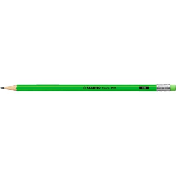 Stabilo Neon HB zöld grafitceruza - 1