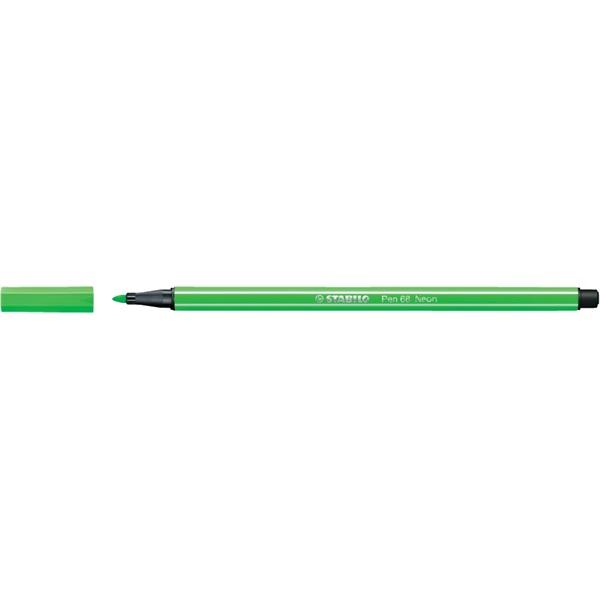 Stabilo Pen 68/033 fluor zöld rostirón - 1