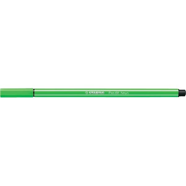Stabilo Pen 68/033 fluor zöld rostirón - 2