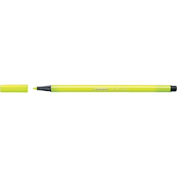 Stabilo Pen 68/24 sárga rostirón - 1