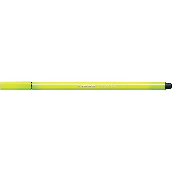 Stabilo Pen 68/24 sárga rostirón - 2