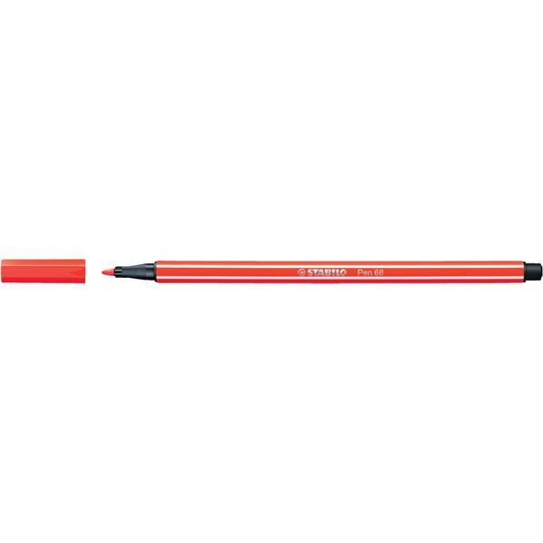 Stabilo Pen 68/40 piros rostirón - 1