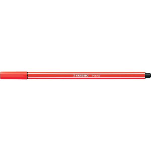 Stabilo Pen 68/40 piros rostirón - 2