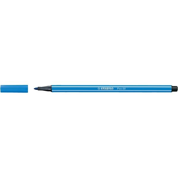 Stabilo Pen 68/41 sötétkék rostirón - 1