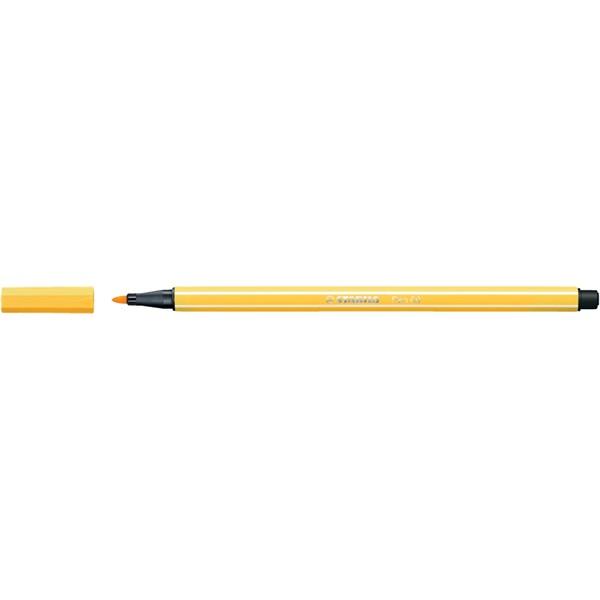Stabilo Pen 68/44 sárga rostirón - 1