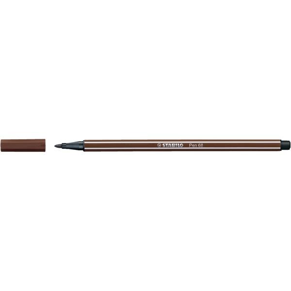 Stabilo Pen 68/45 barna rostirón - 1