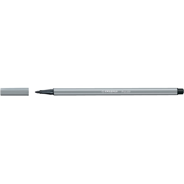 Stabilo Pen 68/95 középszürke rostirón - 1